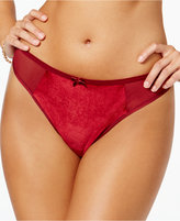 Maidenform Extra Sexy Velvet Thong MFB111, A Macy's Exclusive