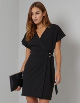 Lipsy D Ring Wrap Dress