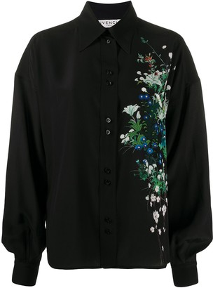 Givenchy Floral Detail Blouse