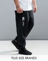 Canterbury of New Zealand PLUS Cuffed Stadium Pants In Black E512607-989