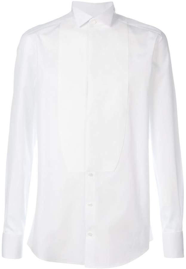 Dolce & Gabbana plastron shirt