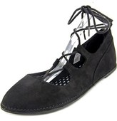 Rocket Dog Malt Women Round Toe Synthetic Black Flats.
