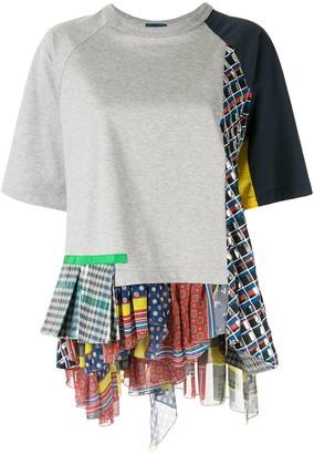 Kolor patchwork T-shirt