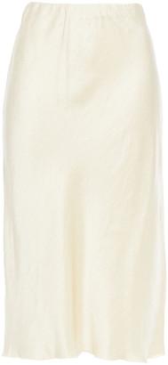 Nanushka Zarina Crinkled Washed-satin Skirt