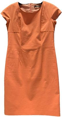 Max Mara Weekend Orange Cotton Dresses