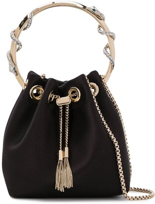 Jimmy Choo Bon Bon bucket bag