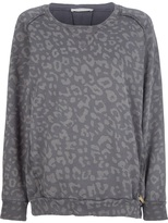 Balmain Pierre leopard print sweatshirt