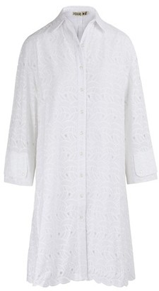 Jour Ne Embroidered shirt dress