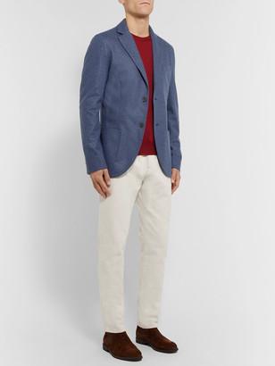 Loro Piana Blue Slim-Fit Cashmere Blazer