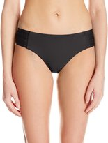 Seafolly Women's Shimmer Ruched Side Retro Bikini Bottom