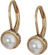 The Sak Pearl Leverback Earrings Earring