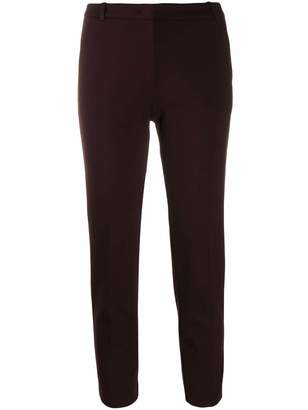 Pinko slim fit cropped trousers