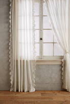 Anthropologie Eyelet-Trimmed Curtain