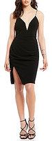 Style Stalker STYLESTALKER Anja Plunging V-Neck Midi Dress