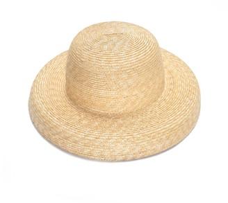 Cloche Unique Straw Hat
