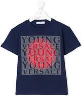 Versace printed logo T-shirt