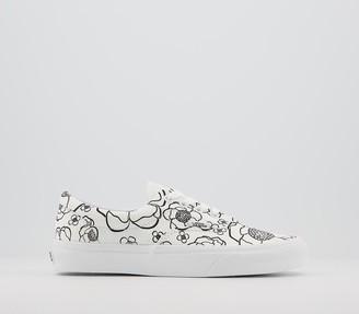 Vans Era Trainers Floral True White
