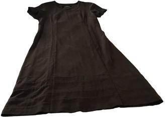 Comme des Garcons Brown Wool Dresses