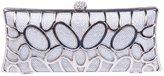 Ainemay Bonjanvye O Shape Metal Baguette Style Ladies Clutch Bag