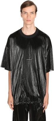 Givenchy Washed Velvet Effect Nylon T-Shirt