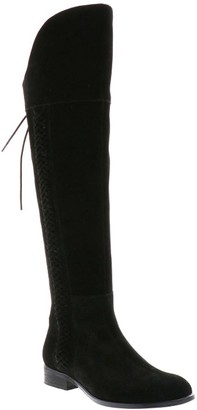 Sbicca High Over-The-Knee Suede Boots - Calumet