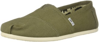 Toms Taupe Grey Suede/Per Women's Grenda Wedged Sandals Taupe 10014139 8