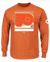 Majestic Men's Philadelphia Flyers Slashing Long Sleeve T-shirt