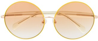 Linda Farrow x Matthew Williamson Posy round sunglasses