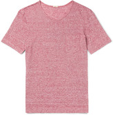 Massimo Alba - Striped Slub Linen-jersey T-shirt