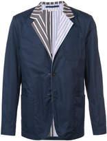 Marni pinstripe lapel blazer