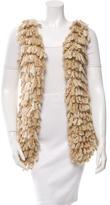 Rodarte Knit Wool-Blend Vest