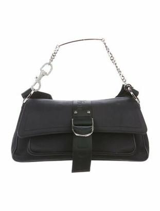 Christian Dior Vintage Hardcore Shoulder Bag Blue