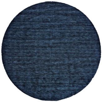 Weave & Wander Celano Rug, Dark Blue, 10' Round