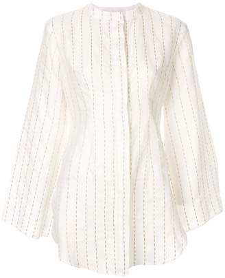 Bambah striped oriental blouse
