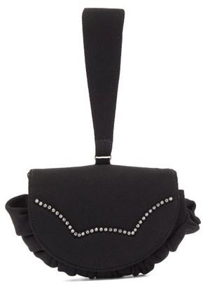 Shrimps Kit Crystal-embellished Clutch - Black