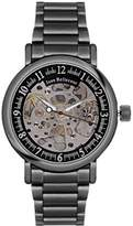 Jean Bellecour Jean redh3 Bellecour – Millenium Analog – Watch Men – Automatic – black dial – Steel Bracelet Black