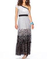 Summer Silk Maxi Dress