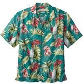 Tommy Bahama 'Take Flight' Print Short Sleeve Linen Sport Shirt (Big & Tall)