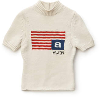 Collection SHRUNKEN LOGO FLAG TEE