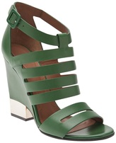 Givenchy cut out wedge shoe