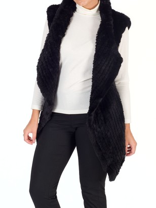Chesca Faux Fur Gillet
