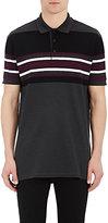 Givenchy Men's Striped Polo Shirt