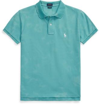 Ralph Lauren Classic Fit Frayed Polo Shirt
