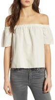 Mother Women's Off The Shoulder Top