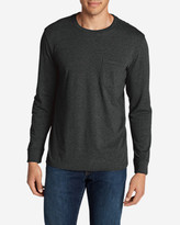 Eddie Bauer Men's Legend Wash Long-Sleeve Pocket T-Shirt - Classic Fit