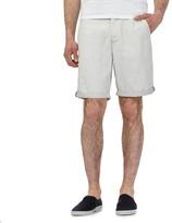 Red Herring Cream Pindot Chino Shorts