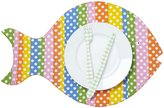 Twos Company Two's Company Cupcakes & Cartwheels Go Fish Placemat