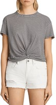 AllSaints Carme Striped Tee