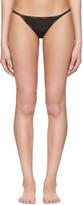 Calvin Klein Underwear Black String Bikini Briefs