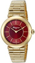 Salvatore Ferragamo Women's FIN060015 Style Analog Display Quartz Gold Watch